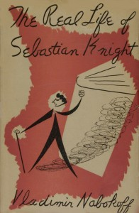 "The Real Life of Sebastian Knight, dust jacket, front, ""Nabokoff"" variant"