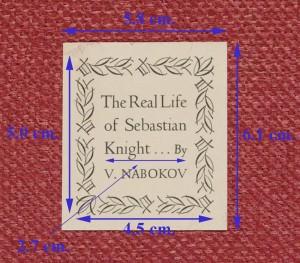 The Real Life of Sebastian Knight, short-line label