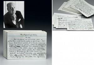 Christie's auction of The Original of Laura manuscript